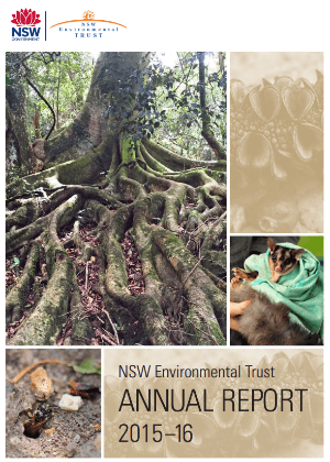 NSW Environmental Trust Annual Report 2015-16