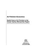 Air pollution economics cover