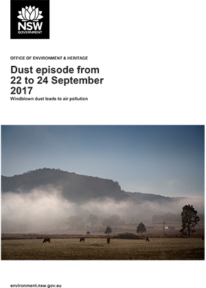 Dust episode from 22 to 24 September 2017