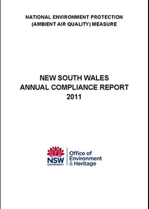 National Environment Protection Measure (Ambient air quality) NSW compliance report 2011 cover