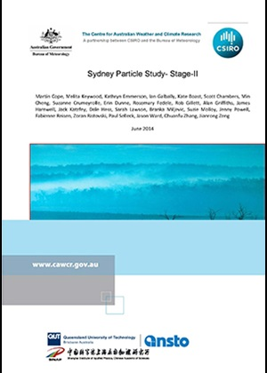 Sydney Particle Study 2010-13 cover