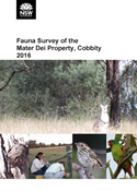 Cover of Mater Dei Fauna Survey 2016