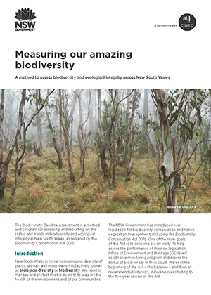 Cover of Measuring our amazing biodiversity