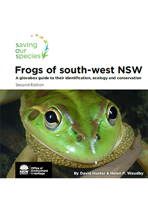 Frogs of south-west NSW