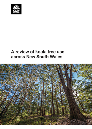 A review of koala tree use across New South Wales
