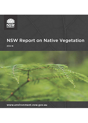 NSW Report on Native Vegetation 2014 to 2016