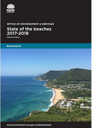 Cover State of the beaches 2017-18 Illawarra