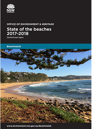 Cover State of the beaches 2017-18 Central Coast