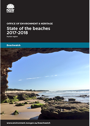 Cover State of the beaches 2017-18 Hunter