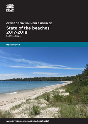 Cover State of the beaches 2017-18 South Coast