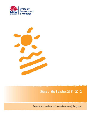 Cover for State of the Beaches 2011 2012