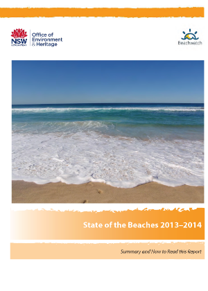 Cover image for State of the Beaches 2014 2014