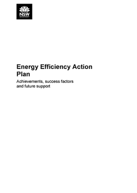 Cover of Energy Efficiency Action Plan: Achievements, success factors and future support