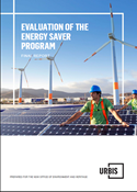 Cover of Evaluation of the Energy Saver Program: Final report