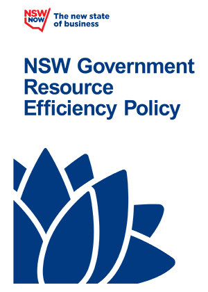 NSW Government Resource Efficiency Policy