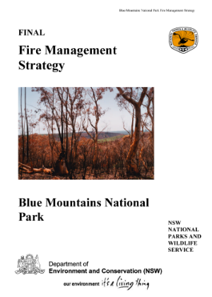 Blue Mountains National Park Fire Management Strategy