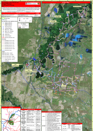 Murrumbidgee Valley National Park, Yanga precinct Fire Management Strategy