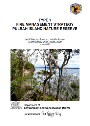 Pulbah Island Nature Reserve Fire Management Strategy