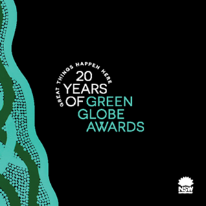 20 Years of Green Globe Awards book cover