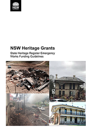 State Heritage Register Emergency Funding Program Guidelines 2018