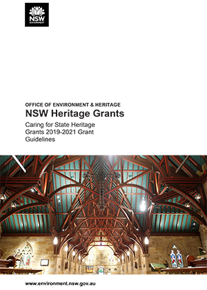 Caring for State Heritage Grants 2019-2021 Grant Guidelines