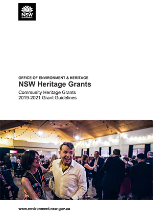 Community Heritage Grants 2019-2021 Grant Guidelines