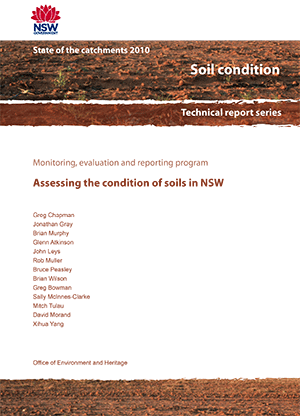 Cover of Assessing the condition of soils in NSW