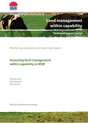 Cover of Assessing land management within capability in NSW