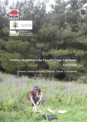 Cover image for CATPlus modelling in the Tarcutta Creek Catchment