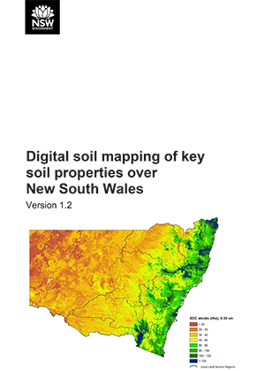 Digital soil mapping of key soil properties over NSW