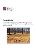 Cover of Fire and soils