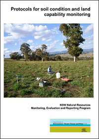 Cover of Protocols for soil condition and land capability monitoring