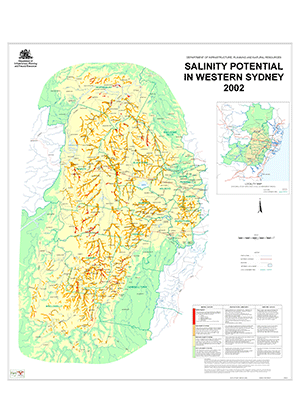 Cover for Salinity potential in Western Sydney 2002
