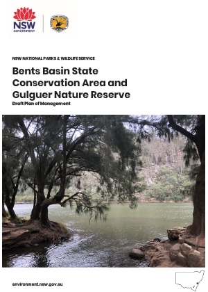 Bents Basin State Conservation Area and Gulguer Nature Reserve Draft Plan of Management