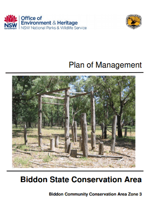 Biddon State Conservation Area Plan of Management