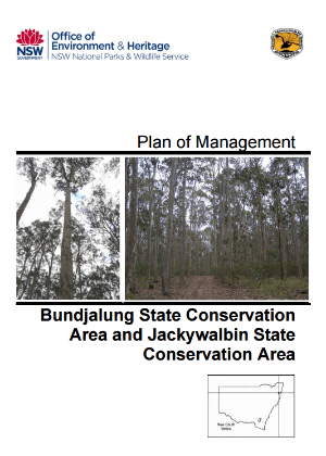 Bundjalung State Conservation Area and Jackywalbin State Conservation Area Plan of Management