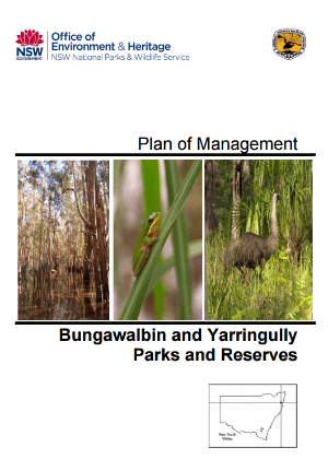 Bungawalbin and Yarringully Parks and Reserves Plan of Management