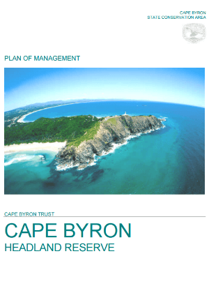 Cape Byron State Conservation Area Plan of Management