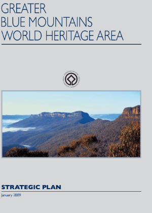 Greater Blue Mountains World Heritage Area Strategic Plan