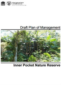 Inner Pocket Nature Reserve Draft Plan of Management cover