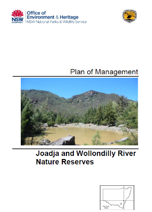 Joadja and Wollondilly River Nature Reserves Plan of Management