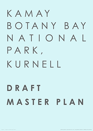 Cover of Kamay Botany Bay National Park, Kurnell: Draft Master Plan