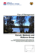 Karuah Medowie Wallaroo Group Plan of Management cover