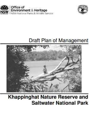 Khappinghat Nature Reserve and Saltwater National Park Draft Plan of Management