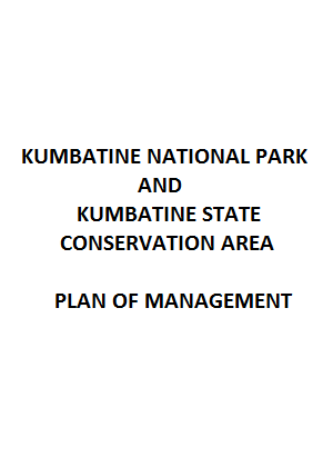 Kumbatine National Park and Kumbatine State Conservation Area Plan of Management