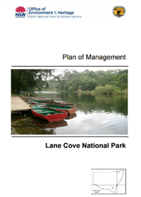 Lane Cove National Park Plan of Management cover