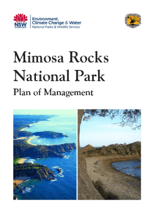 Mimosa Rocks National Park Plan of Management