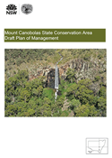 Mount Canobolas State Conservation Area Draft Plan of Management