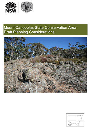 Mount Canobolas State Conservation Area Draft Planning Considerations