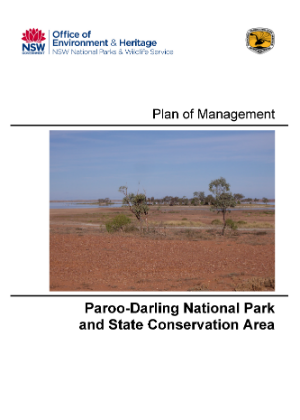 Paroo Darling National Park Plan of Management cover